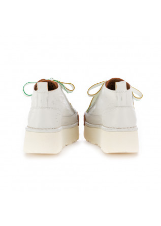 SCARPE DONNA CON ZEPPA BNG REAL SHOES | BIANCO