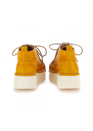 WOMEN'S PLATFORM SHOES BNG REAL SHOES | YELLOW