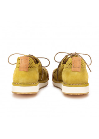 MEN'S FLAT SHOES BNG REAL SHOES   YELLOW HANDMADE