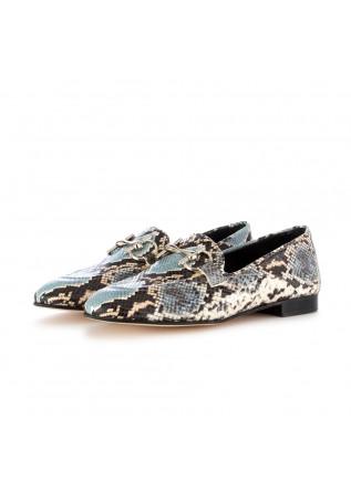 scarpe basse donna poesie veneziane diamante roccia azzurro nero