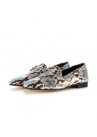 women's flat shoes poesie veneziane diamante roccia light blue black