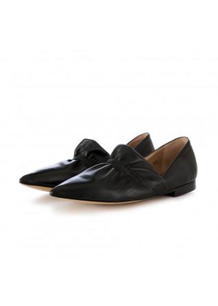scarpe basse donna poesie veneziane nero a punta