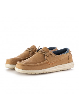 HERREN FLACHE SCHUHE HEY DUDE | WELSH WASHED BEIGE