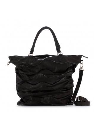 women's shoulder bag papucei thames black leather