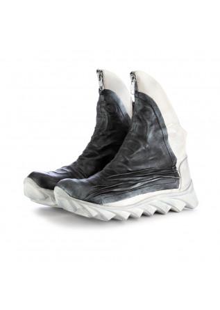 stivaletti da donna papucei arctic nero bianco