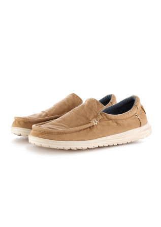 SCARPE BASSE UOMO HEY DUDE WASHED BEIGE