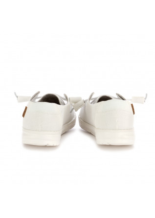 WOMEN'S FLAT SHOES HEY DUDE | WENDY CHAMBRAY WHITE