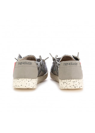 SCARPE BASSE DONNA HEY DUDE | WENDY JUNGLE GRIGIO