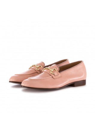WOMEN'S FLAT SHOES MANOVIA 52 | PINK LEATHER