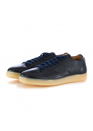 SNEAKERS UOMO MANOVIA 52 | NEW YORK BLU PELLE