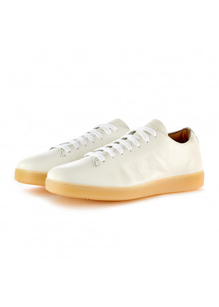 MEN'S SNEAKERS MANOVIA 52 NEW YORK WHITE LEATHER