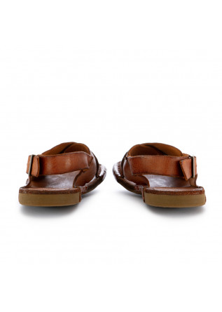 WOMEN'S SANDALS MANOVIA 52 | HONEY BROWN LEATHER
