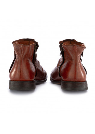 MEN'S ANKLE BOOTS MANOVIA 52 | REDDISH BROWN LEATHER