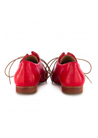WOMEN'S LACE-UP SHOES REVERIES | GILDA RED LEATHER