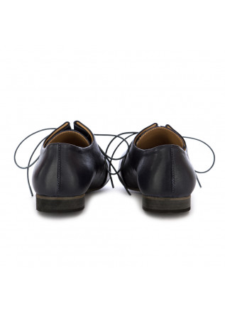 WOMEN'S LACE-UP SHOES REVERIES | GILDA BLUE LEATHER