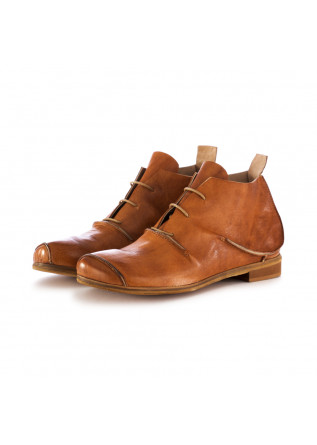 women's lace-up shoes reveries dia brown leather
