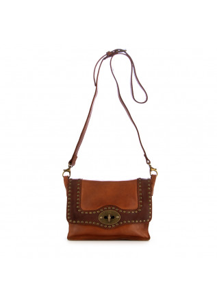 women's crossbody bag rehard vintage brown leather