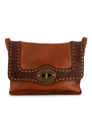 WOMEN'S CROSSBODY BAG REHARD | VINTAGE BROWN LEATHER