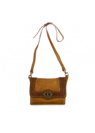 women's crossbody bag rehard vintage khaki leather