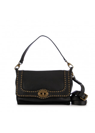 women's shoulder bag rehard vintage black leather