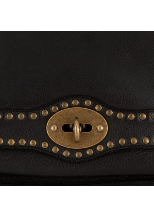 WOMEN'S SHOULDER BAG REHARD | VINTAGE BLACK LEATHER