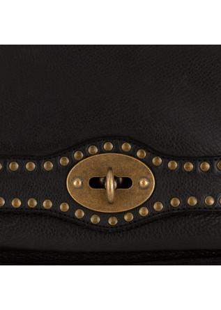 WOMEN'S SHOULDER BAG REHARD | VINTAGE BLACK LEATHER