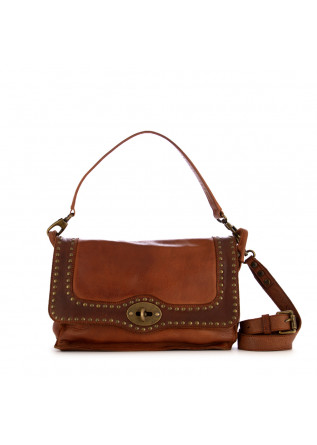 women's shoulder bag rehard vintage brown leather