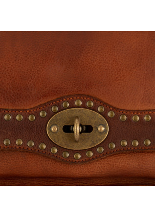 WOMEN'S SHOULDER BAG REHARD | VINTAGE BROWN LEATHER