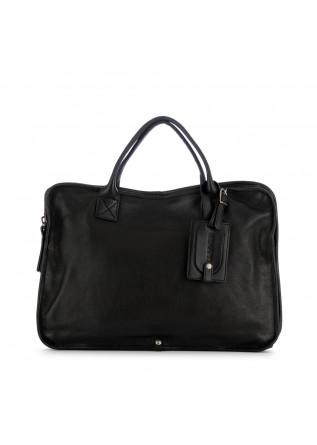 unisex handtasche rehard laptop schwarz echtleder