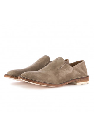 MEN'S FLAT SHOES MANOVIA 52 | GREY SUEDE