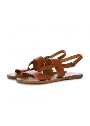 WOMEN'S SANDALS L'ARTIGIANO DEL CUOIO | LEATHER BROWN