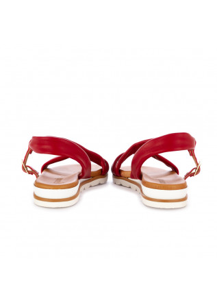 WOMEN'S SANDALS FRENESIA | RED NAPA LEATHER