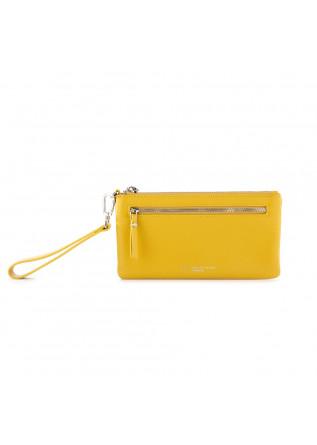 portafoglio donna gianni chiarini pochette giallo