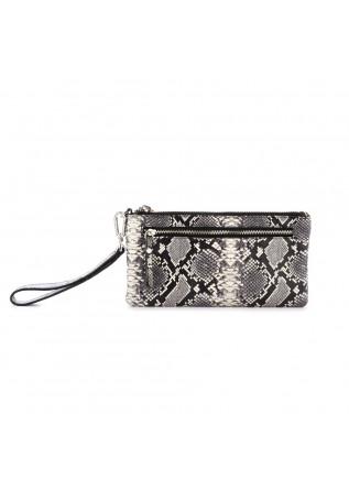 portafoglio donna gianni chiarini pochette grigio