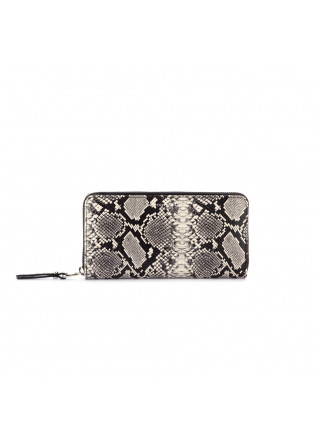 women's wallet gianni chiarini python grey