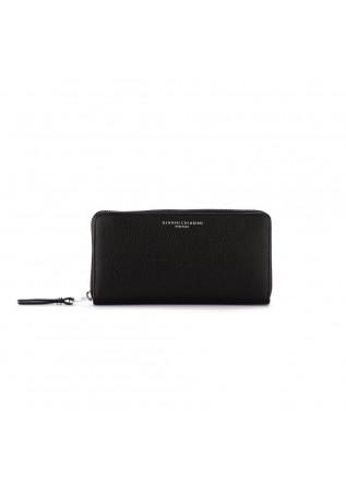 women's wallet gianni chiarini oasi black zip
