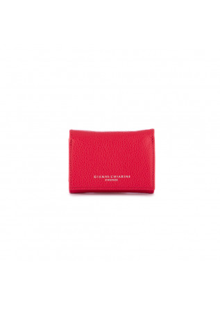 women's wallet gianni chiarini oasi small red fuchsia