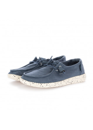 "WOMEN'S FLAT SHOES DUDE | ""WENDY STEEL"" BLUE"