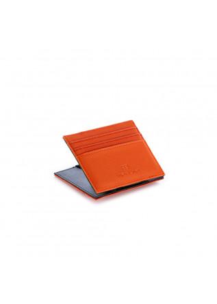 men's wallet vip flap canvas gum orange