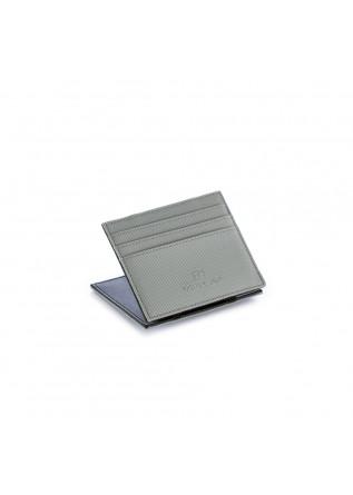 portafoglio uomo vip flap canvas gum grigio