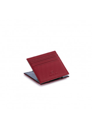 men's wallet vip flap canvas gum bordeaux
