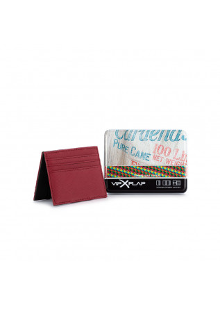 MEN'S WALLET VIP FLAP | CANVAS GUM BORDEAUX