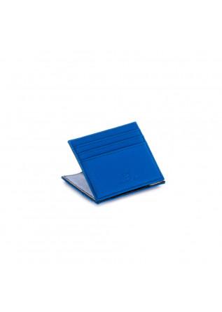 portafoglio uomo vip flap canvas gum blu