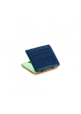 men's wallet vip flap pop blue green red