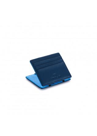 portafoglio uomo vip flap double blu azzurro