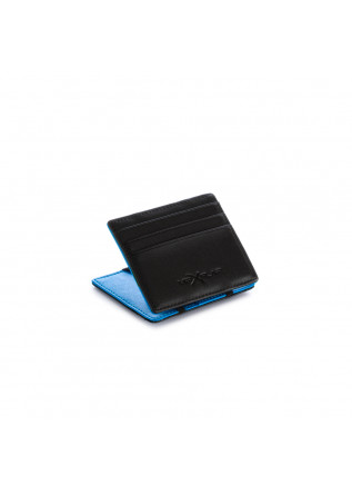 MEN'S WALLET VIP FLAP | DOUBLE BLACK LIGHT BLUE