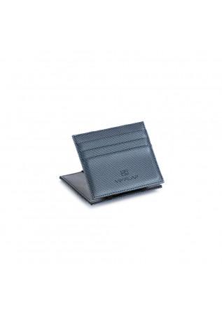 men's wallet vip flap carbon blue