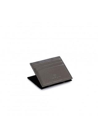 men's wallet vip flap carbon grey black