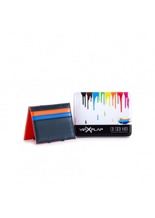 MEN'S WALLET VIP FLAP | BLUE ORANGE LIGHT BLUE