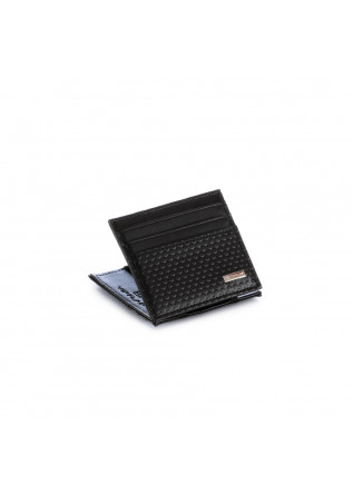 men's wallet vip flap industrial dot black